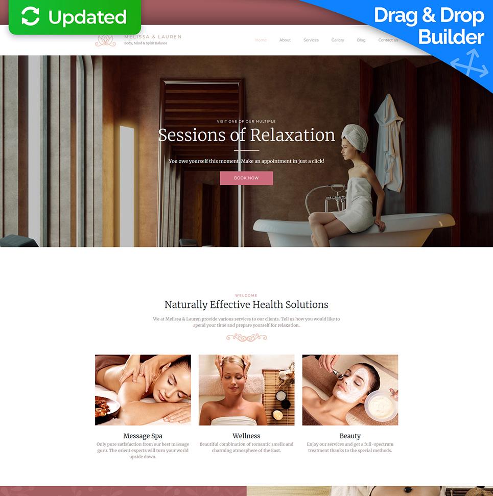 SPA Studio Responsive Website Template - image