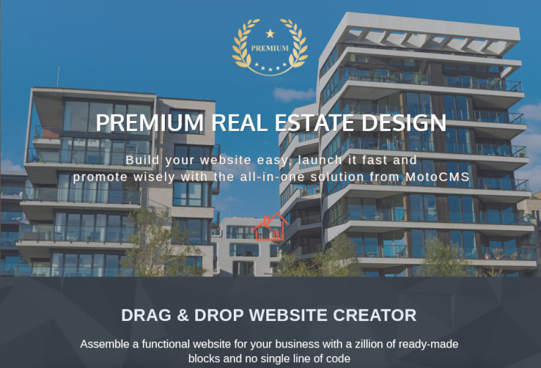Real estate agent moto cms 3 template created exclusively for real estate websites this responsive moto cms 3 template possesses the power of a user friendly drag drop website builder and a pronofoot35fo Image collections