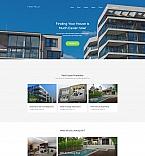Недвижимость. Шаблон сайта 59459