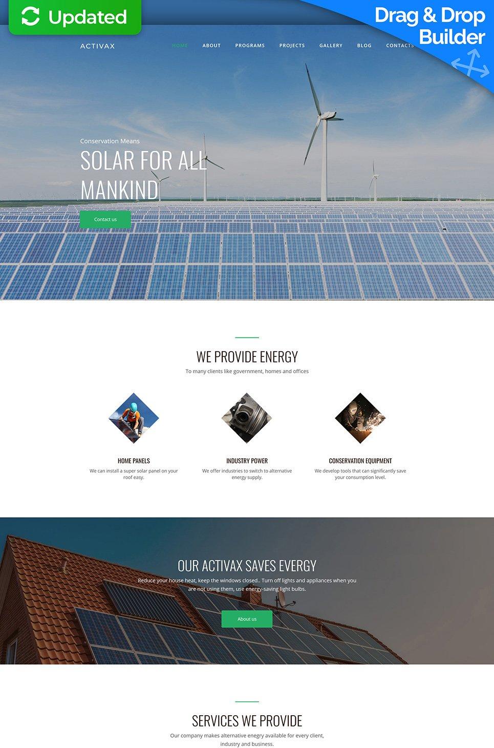 Activax Responsive Website Template - image