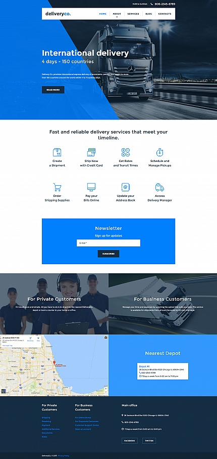 Website Template #59473