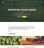 Сельское хозяйство. Шаблон сайта 59489