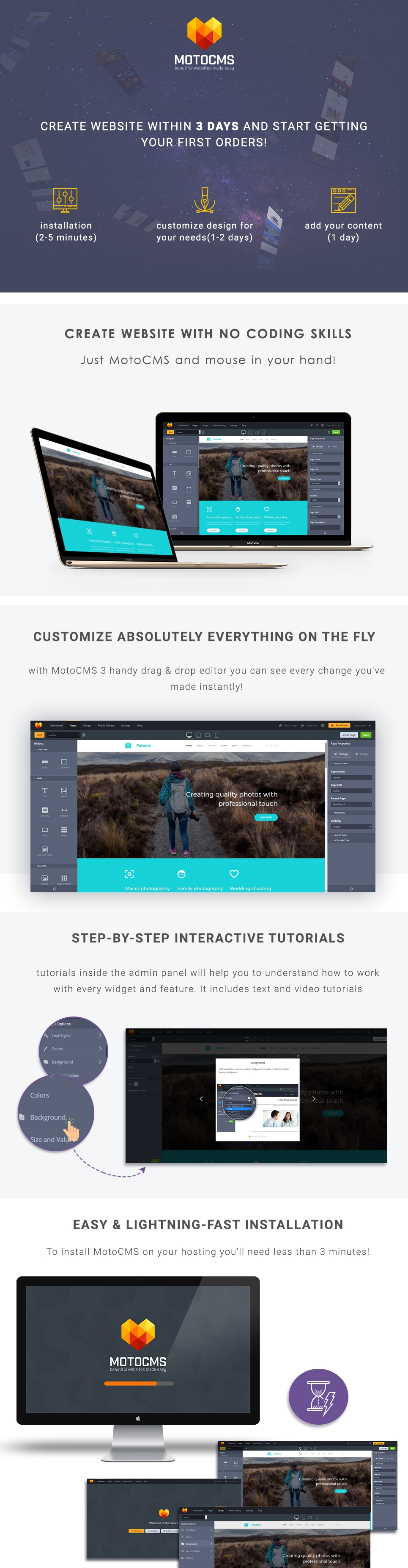 Fotonix Responsive Photo Gallery Template