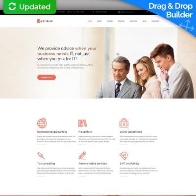 Accounting templates accounting website templates maxwellsz