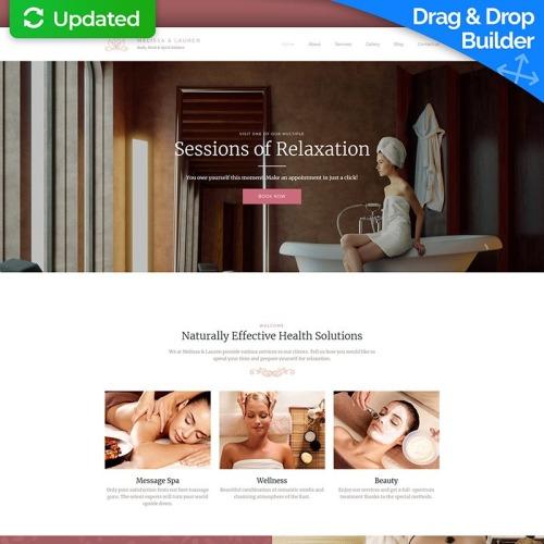 Beauty Salon Premium - Responsive MotoCMS 3 Template