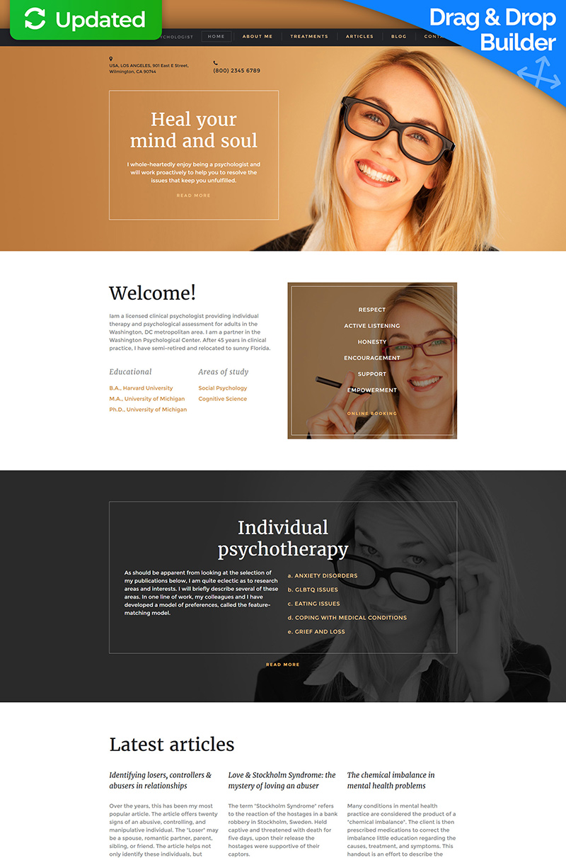 Family Responsive Moto CMS 3 Template