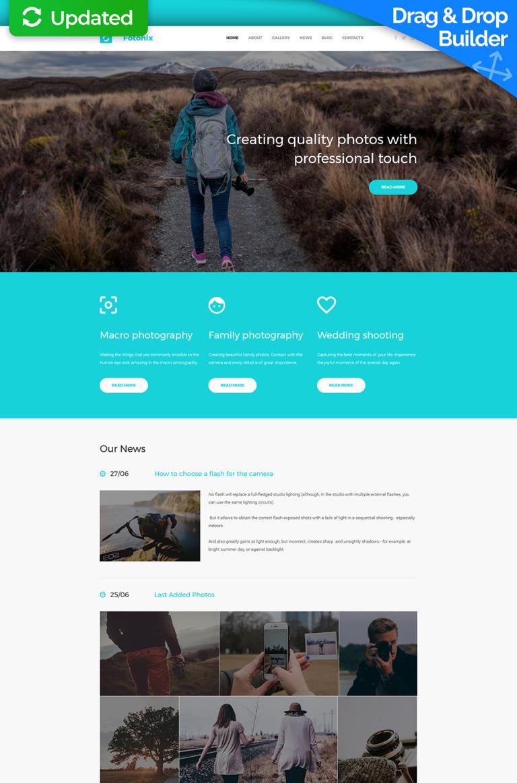 Fotonix Responsive Photo Gallery Template New Screenshots BIG