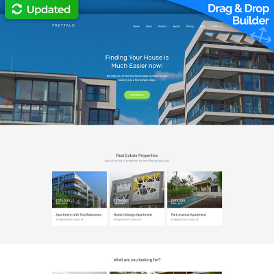 Real estate agent moto cms 3 template frettalo real estate premium moto cms 3 template 59459 moto cms 3 templates pronofoot35fo Image collections