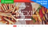 Modèle Moto CMS 3 adaptatif  pour restaurant mexicain New Screenshots BIG
