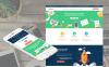 Modèle Moto CMS 3 adaptatif  pour une agence de marketing New Screenshots BIG