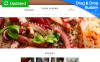Responsive Moto CMS 3 Template over Europees Restaurant New Screenshots BIG