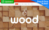 Responzivní Moto CMS 3 šablona na téma Nábytek New Screenshots BIG