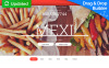 Templates Moto CMS 3 Flexível para Sites de Restaurante Mexicano №59423 New Screenshots BIG