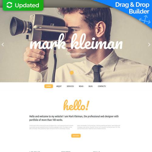 Mark Kleiman - MotoCMS 3 Template based on Bootstrap