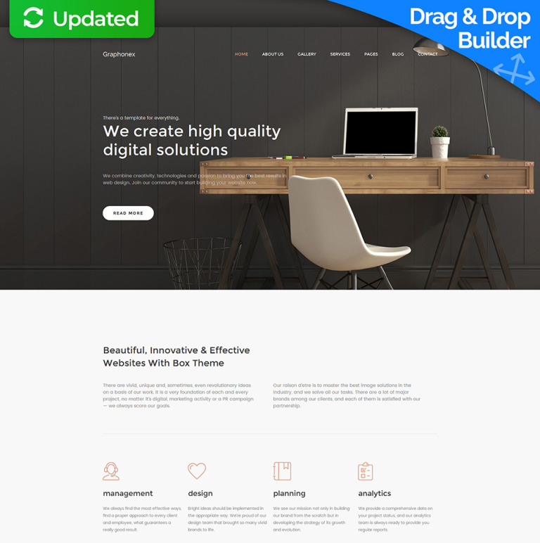 Web Design Premium Moto CMS 3 Template New Screenshots BIG