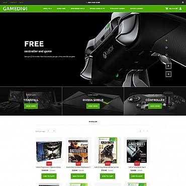 Купить  пофессиональные MotoCMS шаблоны для интернет-магазинов. Купить шаблон #59526 и создать сайт.