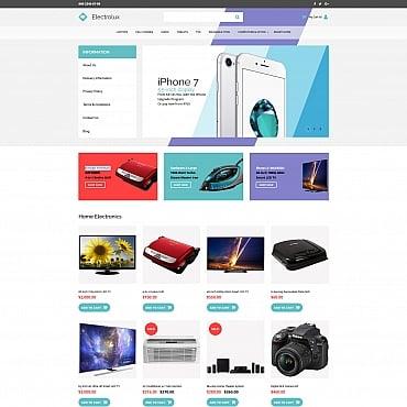 Купить  пофессиональные MotoCMS шаблоны для интернет-магазинов. Купить шаблон #59527 и создать сайт.