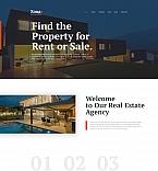 Недвижимость. Шаблон сайта 59539