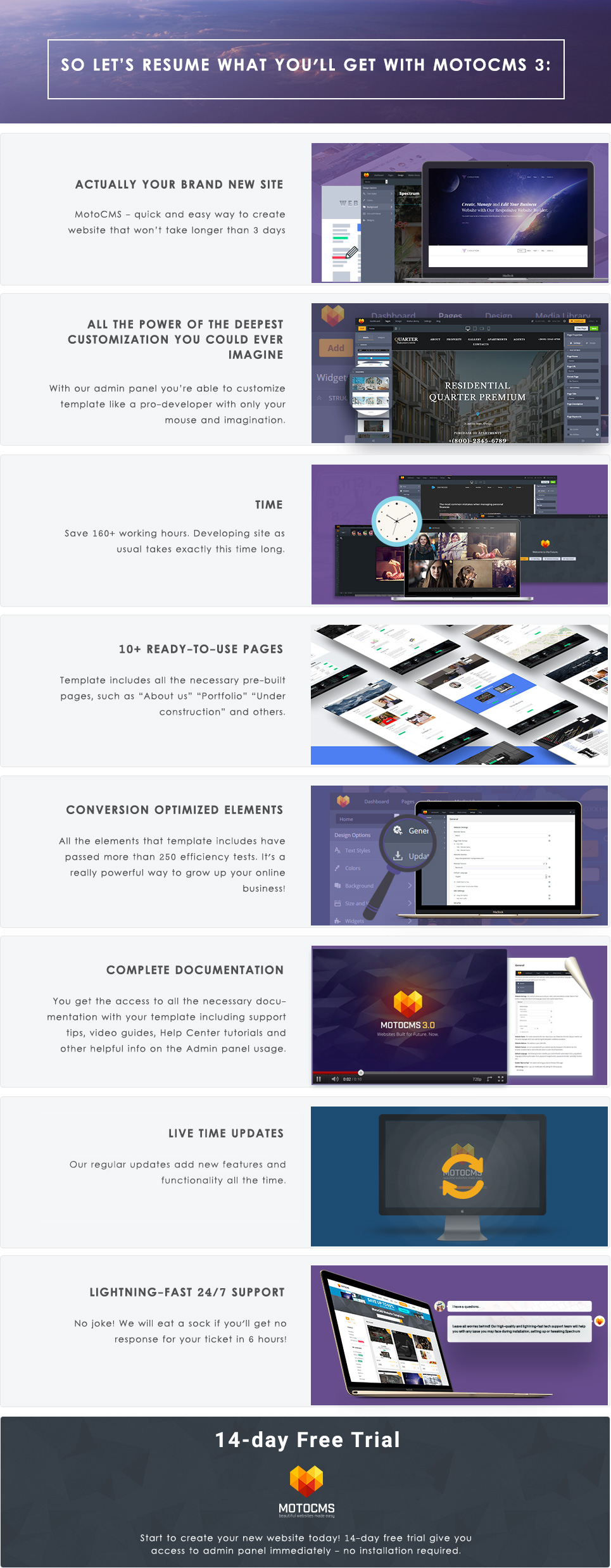Fast Food Restaurant Moto CMS 3 Template