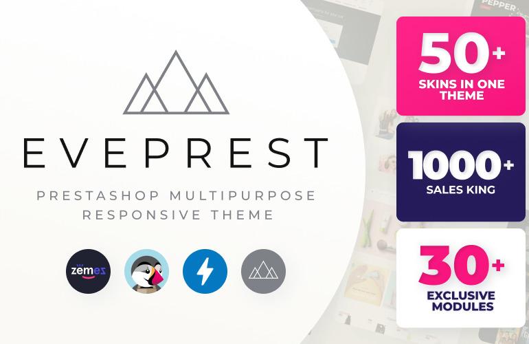 Eveprest - Multipurpose 1.7 & 1.6 PrestaShop Theme