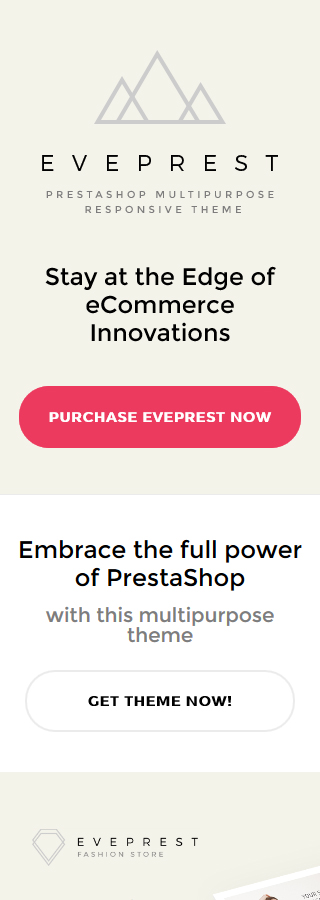 Eveprest - Multipurpose 1.7 & 1.6 PrestaShop Theme 5