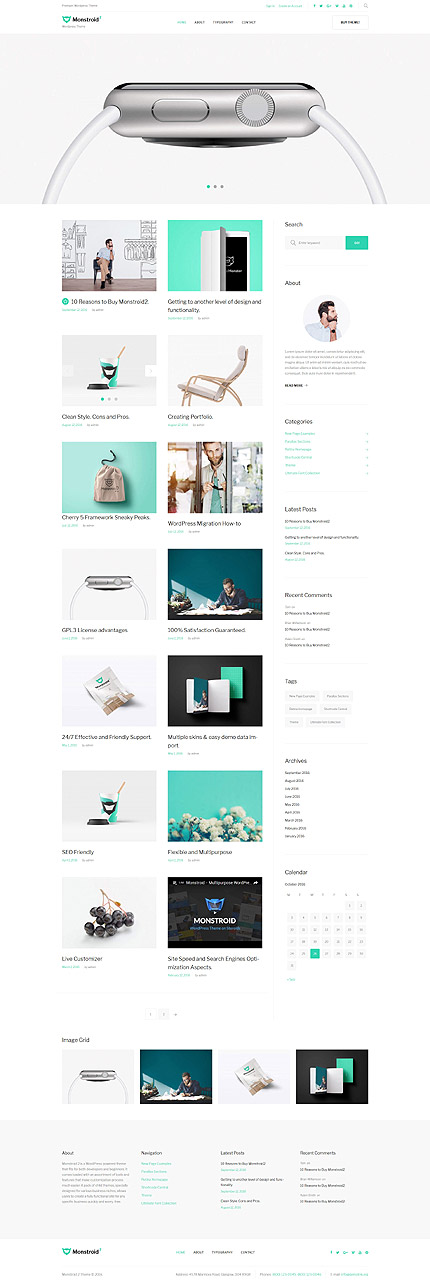 ADOBE Photoshop Template 59560 Home Page Screenshot