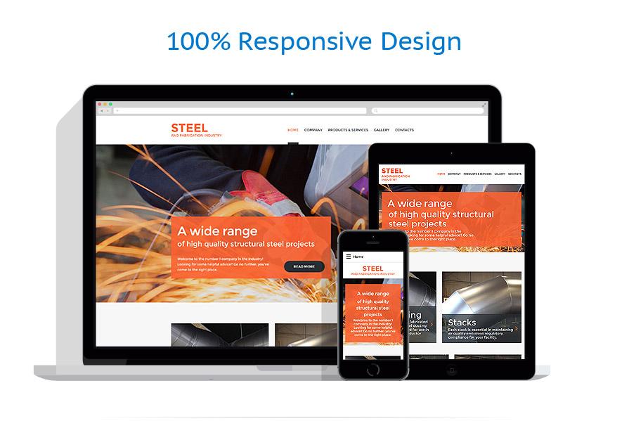 Modèles HTML5 Industriel #59561