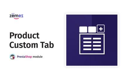 Product Custom Tab PrestaShop Module