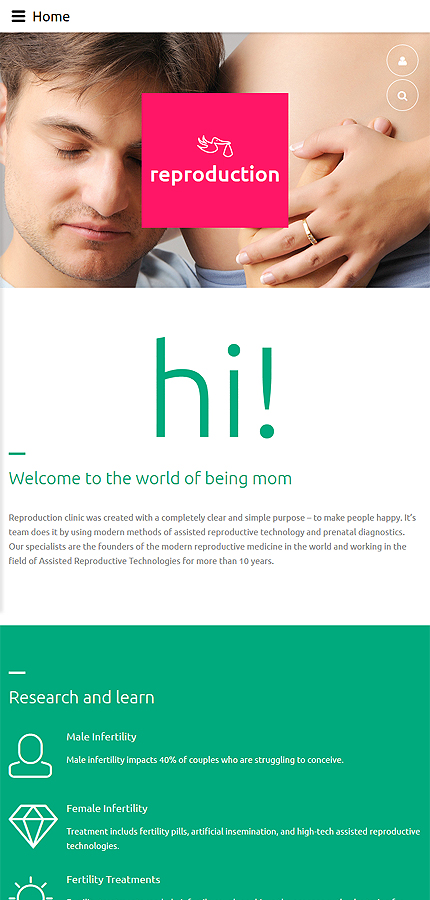 Joomla Theme/Template 59570 Main Page Screenshot