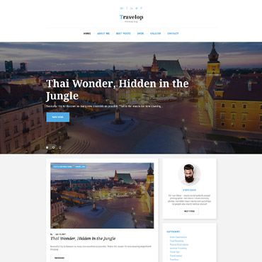 Preview image of Travelop - Traveling Blog
