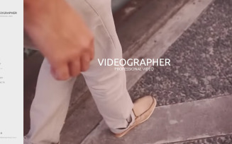 Videographer & Photographer Joomla Template