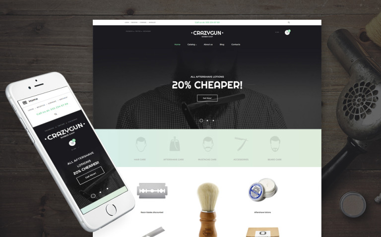 Beauty Responsive VirtueMart Template New Screenshots BIG