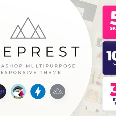Eveprest - Багатофункціональний PrestaShop шаблон #59555