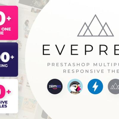 Eveprest - víceúčelová PrestaShop šablona #59555