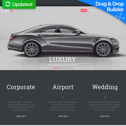 Limo - MotoCMS 3 Template based on Bootstrap