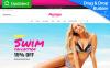 Modèle MotoCMS Pour Commerce électronique adaptatif  pour magasin de lingerie New Screenshots BIG