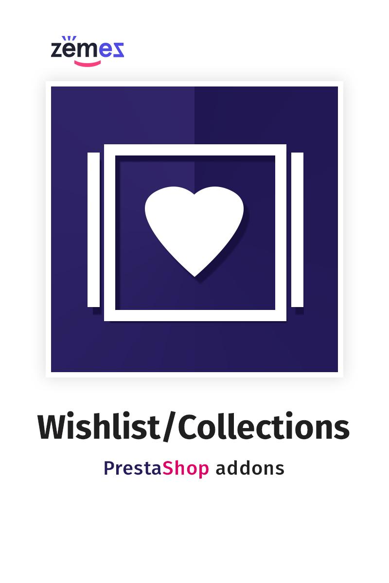 "Modello Modulo PrestaShop #59567 ""Collections"""