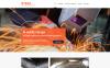Modello Siti Web Responsive #59561 per Un Sito di Saldatura New Screenshots BIG