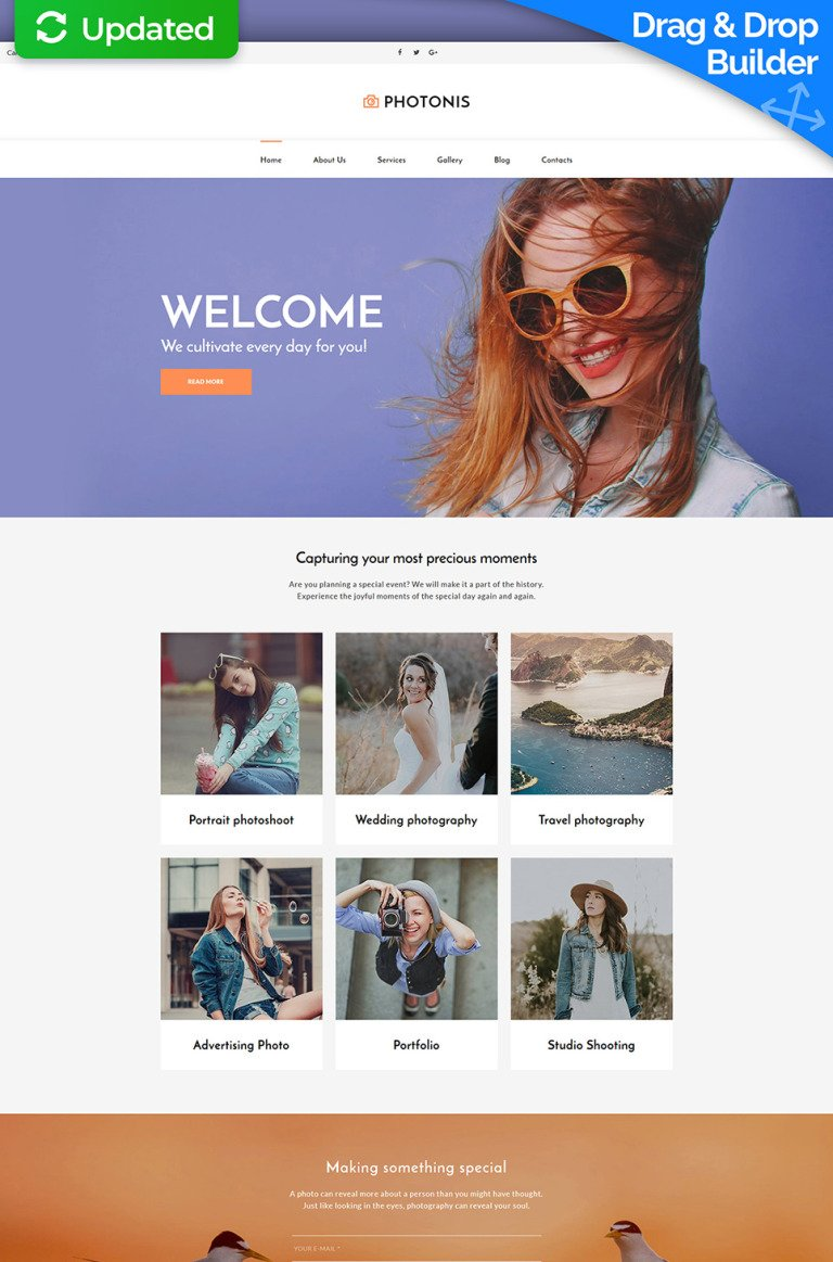 Photo Studio Responsive Photo Gallery Template New Screenshots BIG