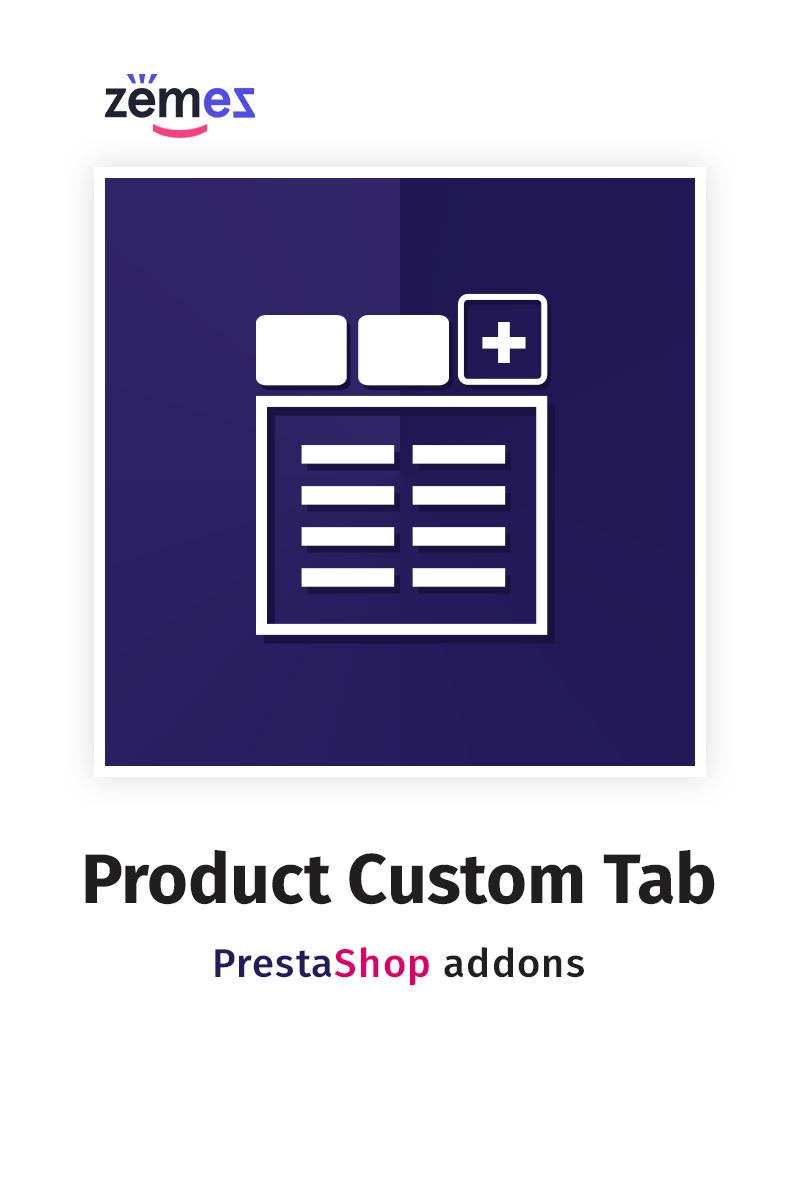 Product Custom Tab PrestaShop Modul #59568