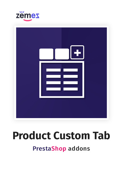 Product Custom Tab PrestaShop Module #59568