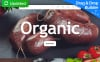 Responzivní Moto CMS 3 šablona na téma Prodejna potravin New Screenshots BIG