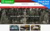 "Responzivní MotoCMS Ecommerce šablona ""Abundance - Antique Responsive"" New Screenshots BIG"