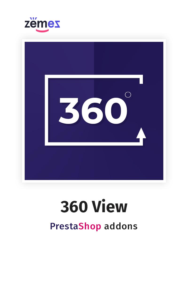 "Tema Modulo PrestaShop #59574 ""360 View"""