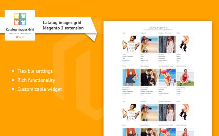TM Catalog Images Grid Magento Extension New Screenshots BIG