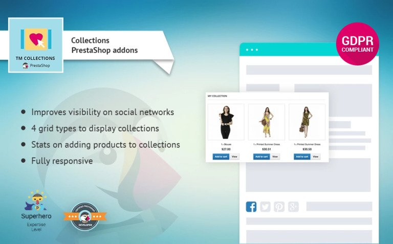 TM Collections PrestaShop Module New Screenshots BIG