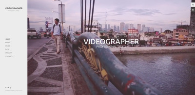 Videographer Responsive Joomla Template #59577