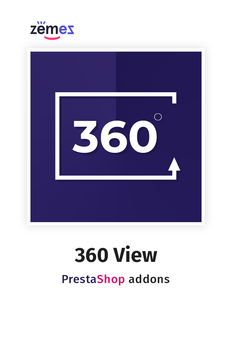 """360 View"" PrestaShop Uitbreiding №59574"
