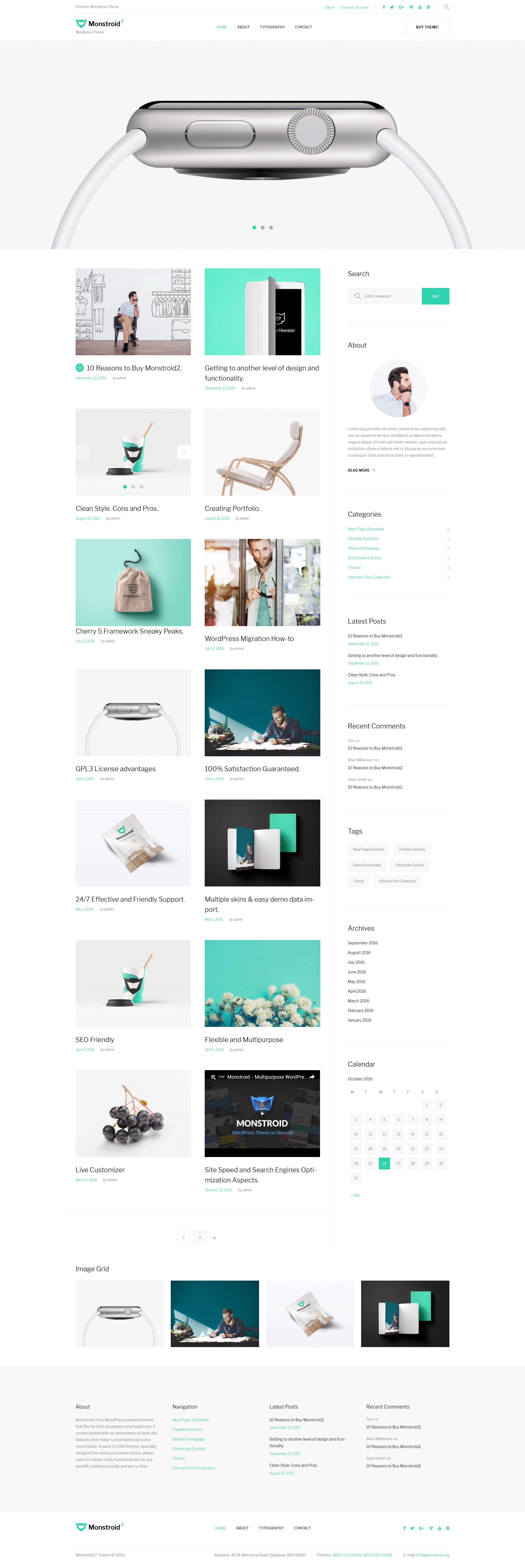 WordPress Theme #59560 für Business und Dienstleistungen