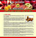 denver style site graphic designs fruits export distribution juice pack nectar drink collection catalogue apple strawberry lemon peach banana grape pear kiwi avocado orange grapefruit pineapple raspberry blackberry garlic water-melon onion radish prices delivery sales services fresh